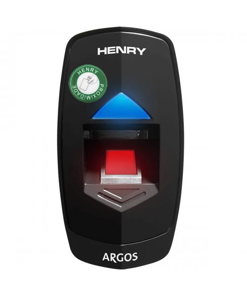 Controle de Acesso Henry Argos Biometria Vermelha 630 e Prox