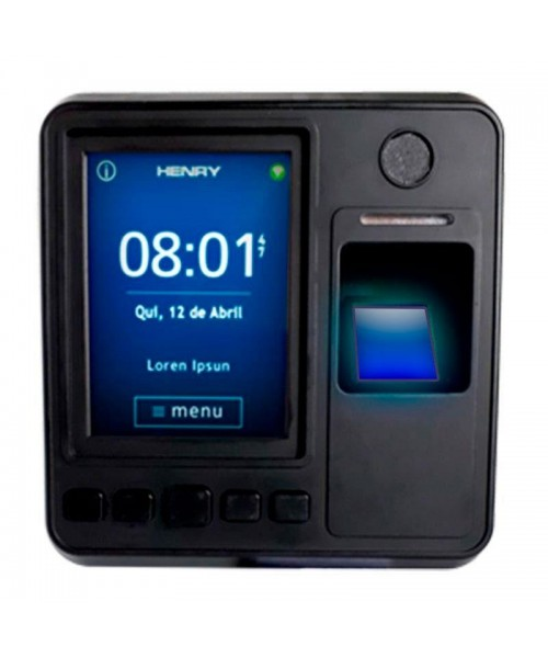 Controle de Acesso Biométrico Henry Argos S