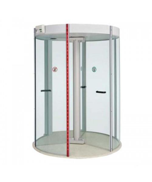 Porta giratória com detector de metais Redor