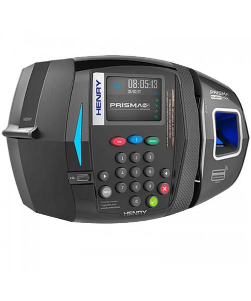 Relógio Ponto Henry Super Facil ADV R3 Bio Azul Barras