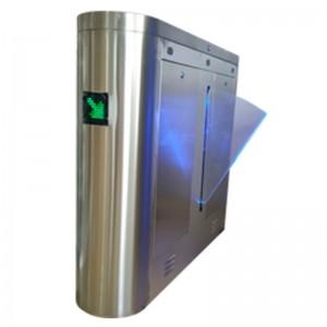 Catraca Flap AJ Biometria e Proximidade Lateral Henry