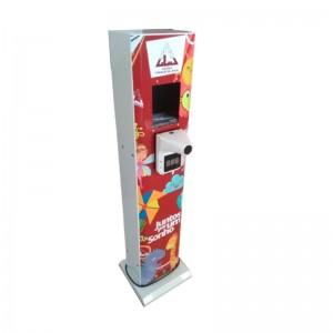 Totem Dispensador de Álcool Gel Infantil Personalizado com Medidor de Temperatura