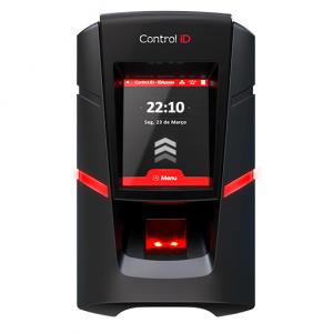 Controle de Acesso Control iD iDFit 4x2 Biometria Preto