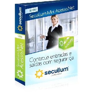 Software de Controle de Acesso Secullum Mini Acesso.Net