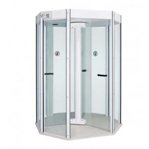 Porta giratória com detector de metais Octal