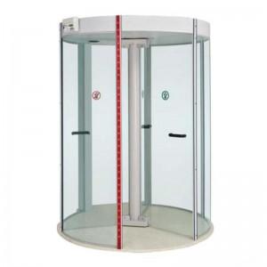 Porta giratória com detector de metais para Bancos