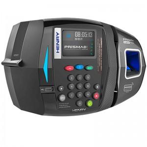 Relógio Ponto Bio Prox Barras Mifare Henry SF ADV R1 Azul